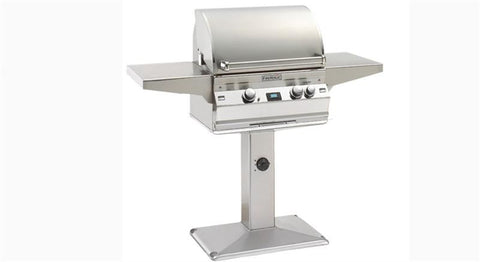 FireMagic Aurora A430s Patio Post Mount Grill