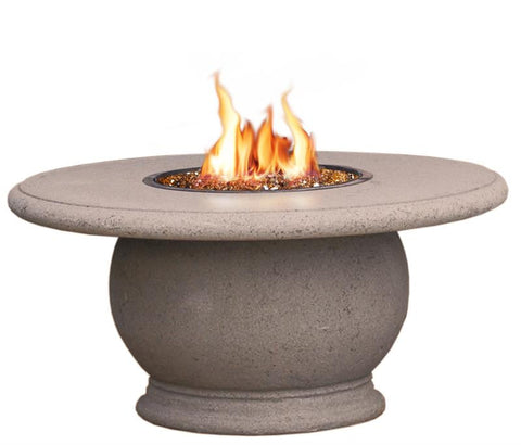 Amphora Firetable With Concrete Top