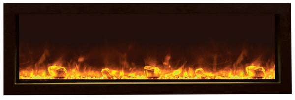 Amantii BI-50-SLIM Electric Fireplace – Indoor / Outdoor