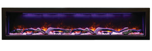 Amantii  BI-72-DEEP Electric Fireplace – Indoor / Outdoor