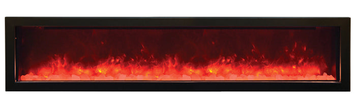 Amantii  BI-72-SLIM Electric Fireplace – Indoor / Outdoor