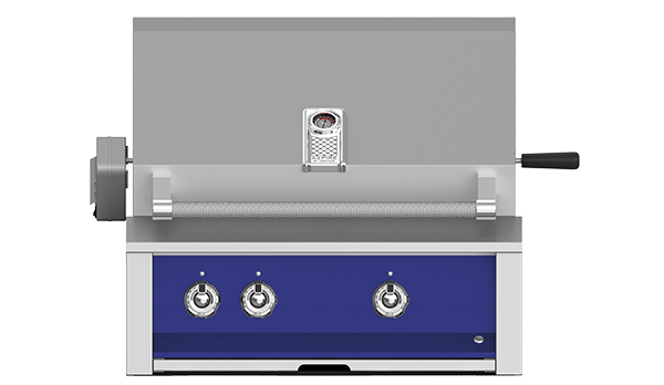 "30"" Hestan Aspire Built-In Grill with Rotisserie - E_BR Series"