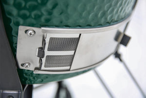 Large Big Green Egg with Short Stainless Steel Table Bundle