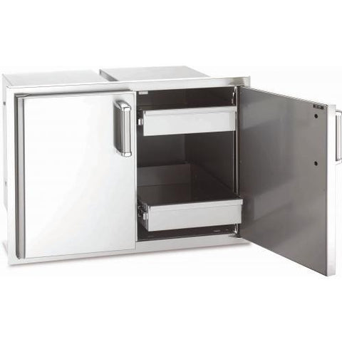 Fire Magic Echelon Double Access Door With Dual Drawers
