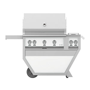 "36"" Hestan Outdoor Deluxe Grill with Double Side Burner - G_BR__CX_ Series"