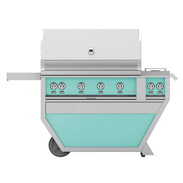 "42"" Hestan Outdoor Deluxe Grill with Double Side Burner - G_BR__CX_ Series"