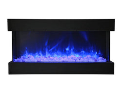 Amantii 50-TRU-VIEW-XL – 3 Sided Electric Fireplace