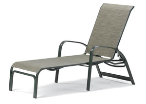 Primera Sling Four-Position Lay-flat Stacking Chaise
