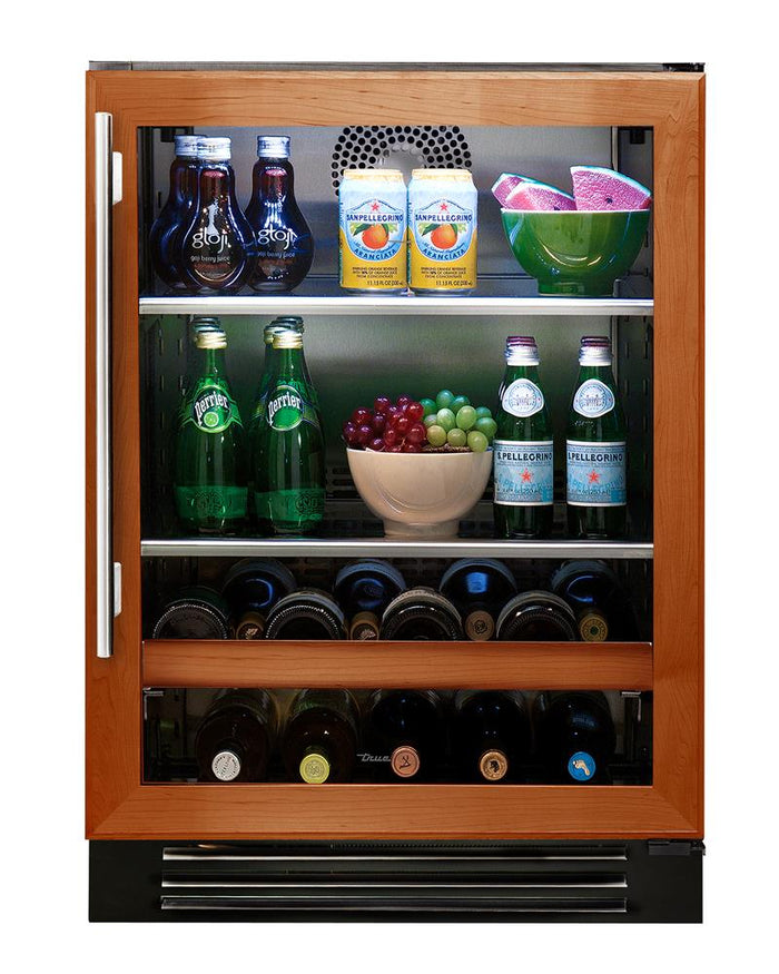 "True Beverage Center- 24"" Overlay Glass Door"