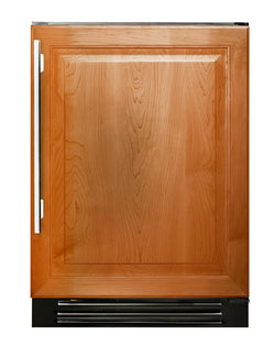 "True Beverage Center- 24"" Overlay Solid Door"