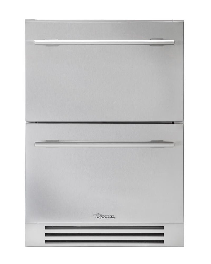"True Undercounter Freezer- 24"" Stainless Steel Drawers"
