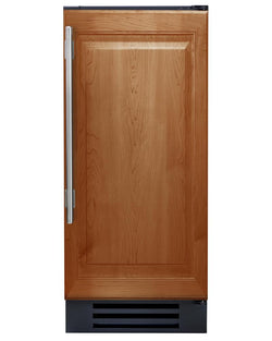 "True Clear Ice Machine- 15"" Overlay Solid Door"