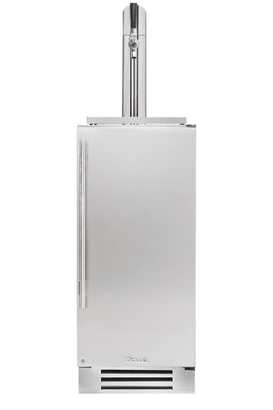 "True Beverage Dispenser- 15"" Single Tap Stainless Solid Door"