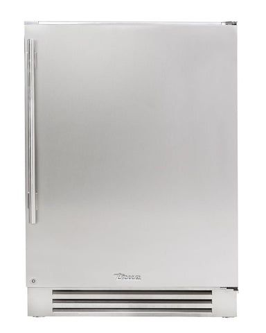 "True Undercounter Refrigerator- 24"" Stainless Solid Door"