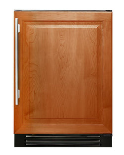 "True Wine Cabinet- 24"" Dual Zone Overlay Solid Door"