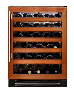 "True Wine Cabinet- 24"" Single Zone Overlay Glass Door"