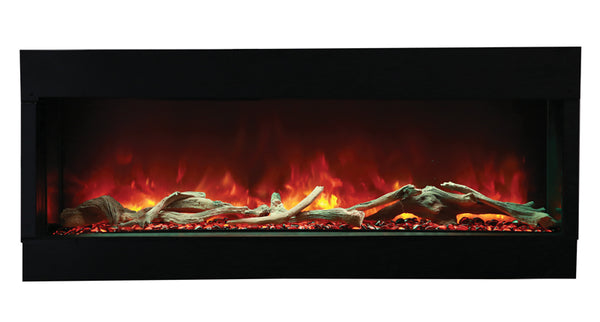 Amantii 60-TRU-VIEW-XL – 3 Sided Electric Fireplace