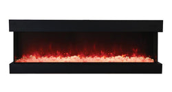 Amantii 72-TRU-VIEW-XL – 3 Sided Electric Fireplace