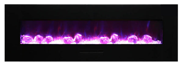 Amantii WM-FM-60-7023-BG Electric Fireplace