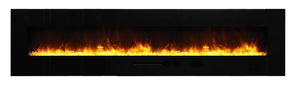 Amantii WM-FM-88-10023-BG Electric Fireplace