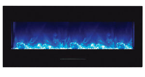 Amantii WM-FM-50-BG Electric Fireplace & WM-FM-50-BG NO LOGS