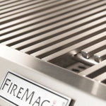 FireMagic Echelon Diamond E660s Portable Grill with Analog Thermometer & Flush Mounted Single Side Burner