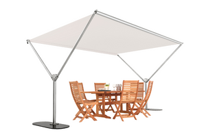 Woodline Sky Rectangle Umbrella