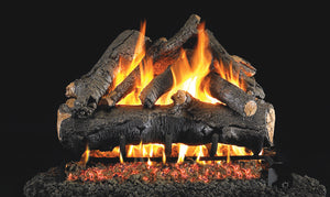 American Oak Vented Gas Logs