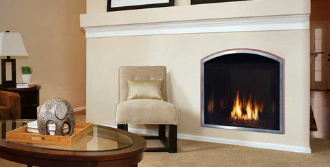 Mendota Fullview Modern Gas Fireplace