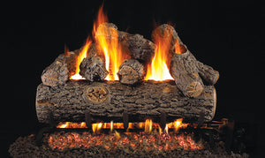Golden Oak Designer Plus - Vented Gas Logs