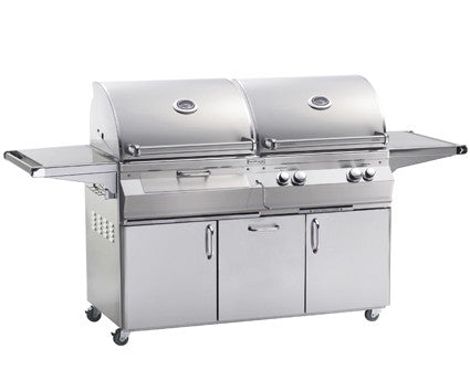 Firemagic A830 Combo Grills-Gas & Charcoal