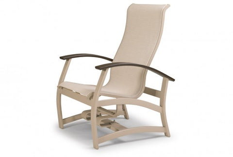 Belle Island Sling Hidden Motion Chat Chair