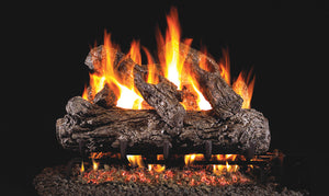 Rustic Oak - Vented Gas Logs