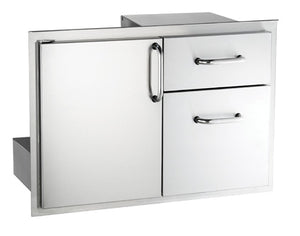 FireMagic Access Door w/ Double Drawer