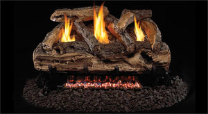 Split Oak Gas Logs- Vent Free