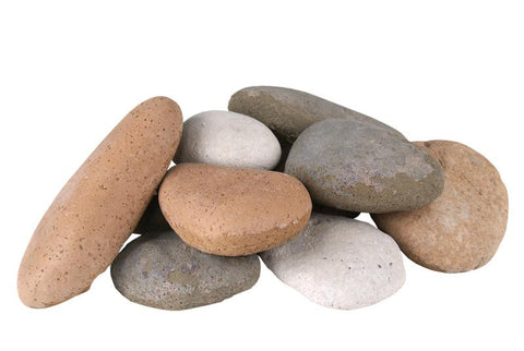 RealFyre River Rock-Assorted