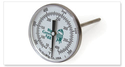 Big Green Egg Temperature Gauge-Oversized 3 inch