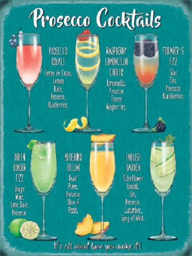 prosecco-cocktails-wine-glass-drink-pub-tiki-bar-kitchen-metal-steel-wall-sign