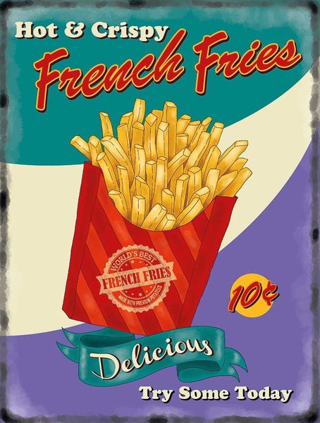french-fries-chips-50-s-diner-kitchen-cafe-food-retro-metal-steel-wall-sign
