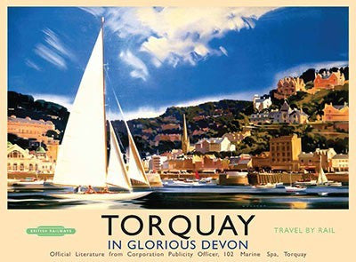 torquay-in-glorious-devon-harbour-south-sailing-boats-travel-by-train-british-summer-seaside-the-english-riviera-ideal-for-house-home-bathroom-kitchen-cafe-shop-or-bar-metal-steel-wall-sign