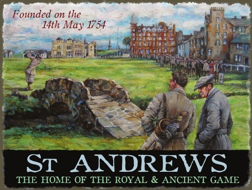 st-andrews-golf-club-course-sport-game-scotland-old-picture-vintage-for-home-shed-man-cave-sports-bar-restaurant-or-shop-metal-steel-wall-sign