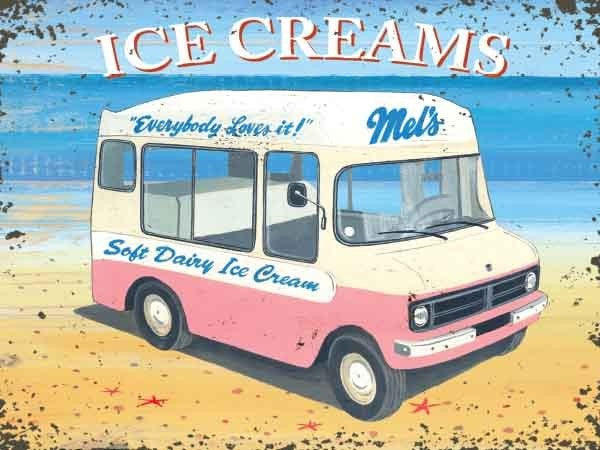 ice-cream-van-man-mel-s-soft-dairy-ice-cream-holiday-favourite-on-the-beach-english-summer-seaside-99-mr-whippy-walls-pink-van-ideal-for-house-home-parlour-cafe-shop-bar-or-pub-metal-steel-wall-sign