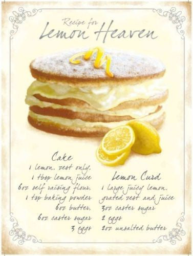 recipe-for-lemon-heaven-ingredients-cake-lemon-curd-sponge-cake-ideal-for-house-home-bar-kitchen-pub-shop-cafe-or-restaurant-metal-steel-wall-sign