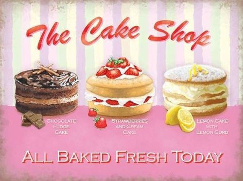 the-cake-shop-chocolate-fudge-strawberry-cream-lemon-curd-food-old-retro-vintage-advert-for-shop-kitchen-cafe-pub-home-and-restaurant-metal-steel-wall-sign