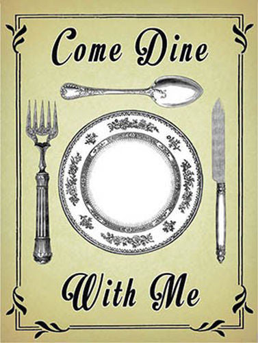 come-dine-dinner-party-advertising-food-drink-kitchen-cafe-table-layout-plate-spoon-knife-and-fork-vintage-cutlery-set-old-sign-for-restaurant-pub-home-metal-steel-wall-sign