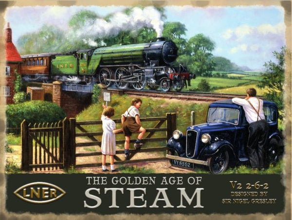 steam-train-lner-flying-scotsman-railway-engine-golden-age-metal-steel-wall-sign