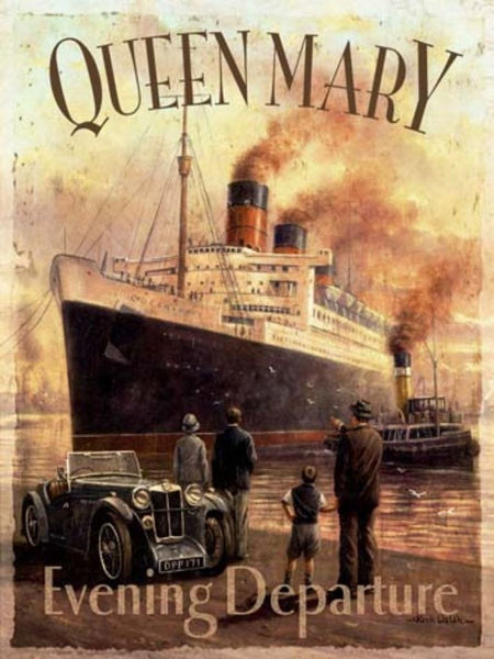 queen-mary-ocean-cruise-liner-ship-boat-old-vintage-mg-car-cunard-white-star-line-1936-steam-boat-for-home-boat-garage-kitchen-house-shop-or-pub-metal-steel-wall-sign