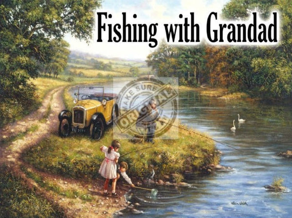 fishing-with-granddad-on-riverside-old-early-20th-century-setting-for-house-home-lounge-shed-or-garage-metal-steel-wall-sign