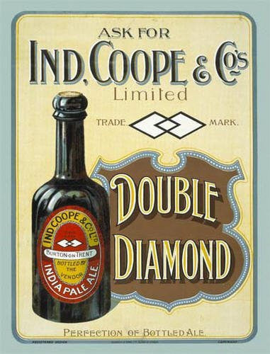 ind-coope-double-diamond-india-pale-ale-ipa-bottle-of-beer-old-vintage-advert-for-pub-bar-house-home-or-kitchen-metal-steel-wall-sign
