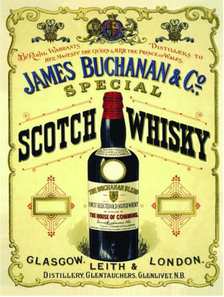 james-buchanan-co-special-scotch-whisky-bottle-drink-old-retro-vintage-advert-for-pub-bar-house-and-home-metal-steel-wall-sign